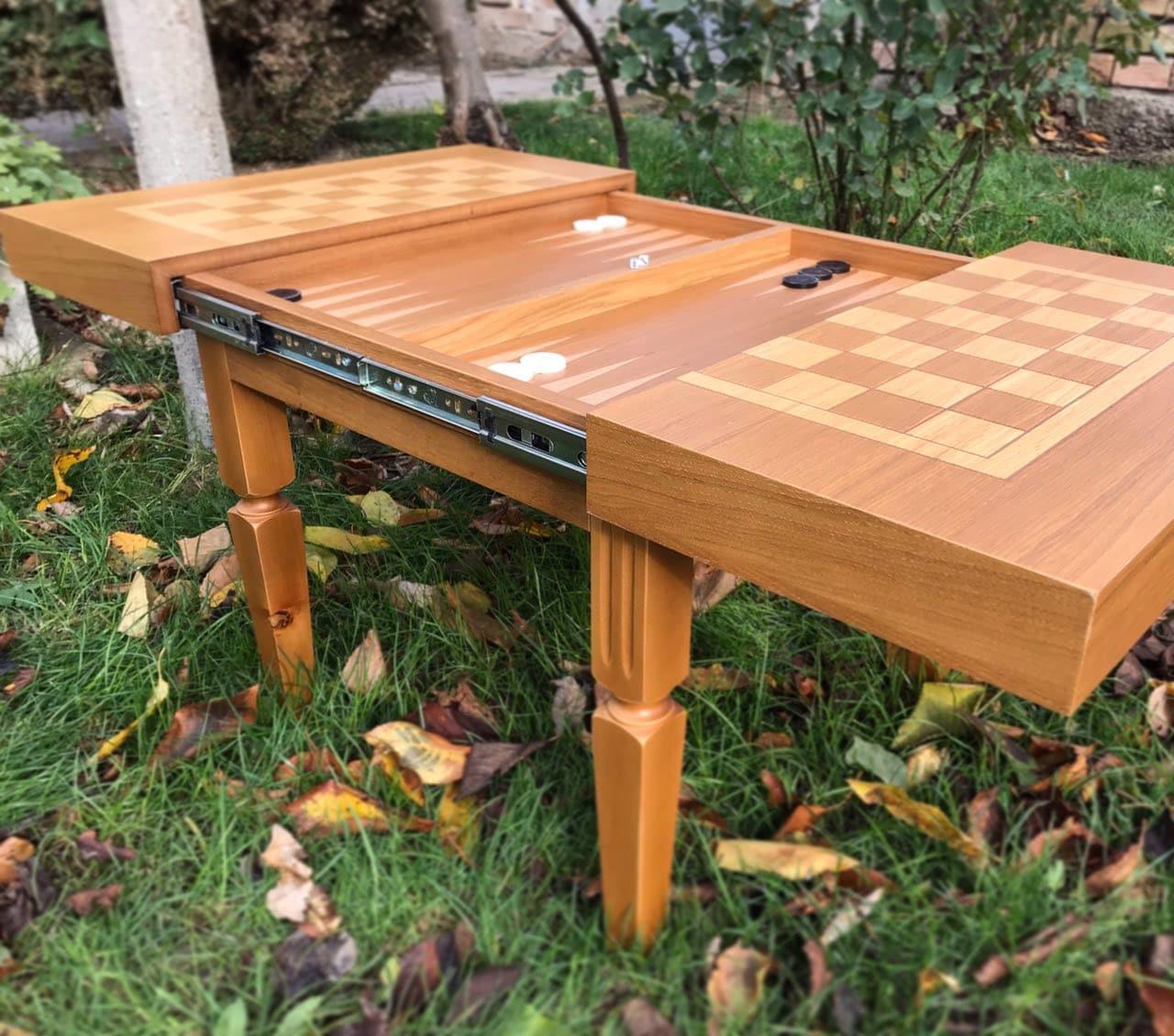 разгъваема маса за шах
