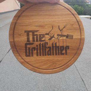 the grill father дъзка за рязане