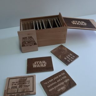 кутия с цитати от star wars