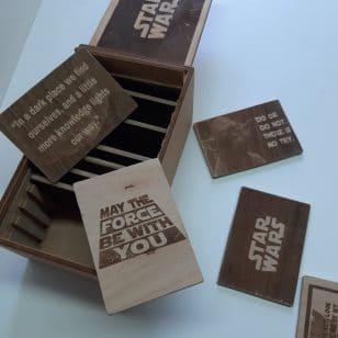 star wars кутия с цитати