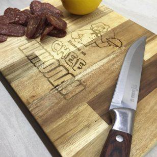дъска за рязане мезето на chef николай