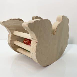 """Дървена кошница за """"Великден"""""""