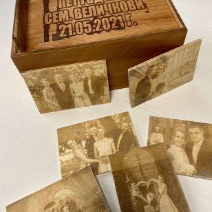 дървена кутия със спомени